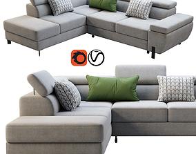 3D Wersal Molina L Sofa