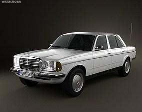 3D model Mercedes-Benz W123 sedan 1975