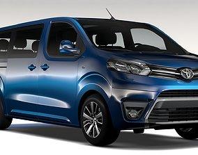 Toyota ProAce Verso L3 2017 3D model