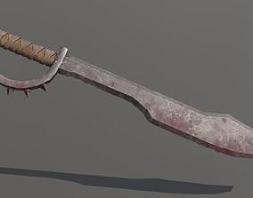 3D asset Orc Saber