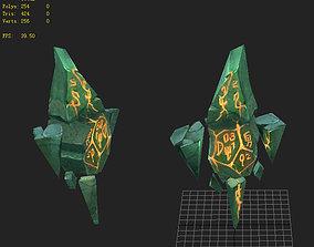emerald Game Model - Diamond 3D