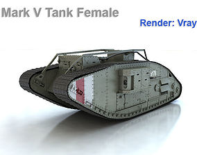 3D Mark V Tank Female