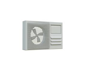 3D Extractor air conditioning Unit Fbx Obj Abc