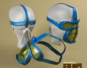 3D model Surgical Mask