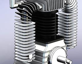 3D model AIR COMPRESSOR CHINOOK K-30