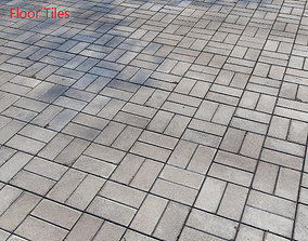 3D model Floor Tiles coating