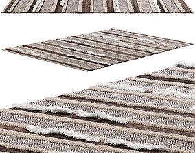 nuLOOM Solid Chevron Stripes Area Rug 3D