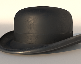 3D bowler hat household