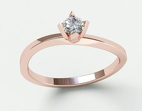 wedding Ringmodel137- Engagement leaf ring