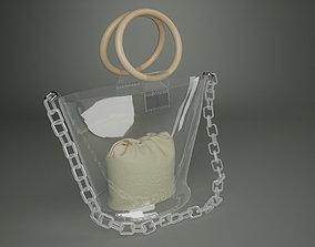 3D Transparent Bag Purse