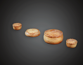 3D model MVL - Biscuit - PBR Game Ready