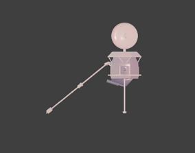 Space Marine 3D asset