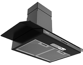 Suggar Vidrio 90cm Black 3D