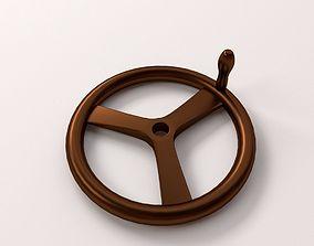 3D model Crank Wheel