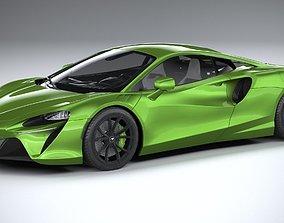 3D McLaren Artura 2022 LowPoly