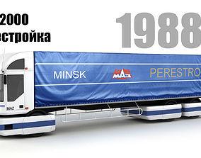 3D MAZ 2000 Perestroika