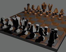 tower Chessboard 3D