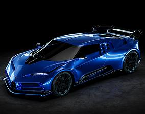3D Bugatti Centodieci 2020 Studio