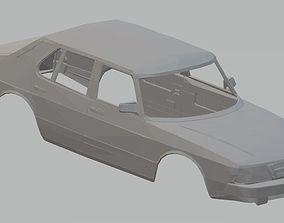 Saab 900 Printable Body Car