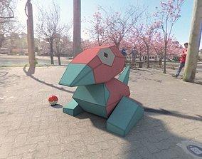 Pokemon Porygon 3D asset realtime
