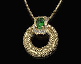 3D printable model Brilliant Braid pendant pendants