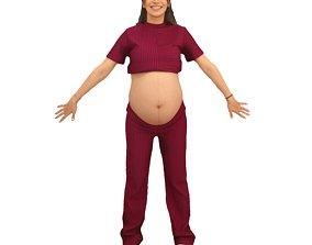 3D model No458 - A Pose Pregnant