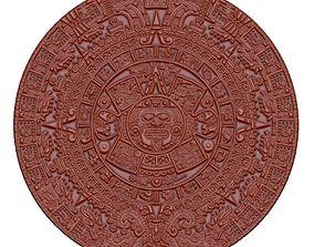 Mayan calendar 3D printable model