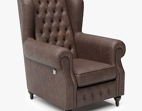 3D model Armchair of Sherlock