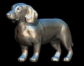 preschool SAUSAGE DOG 3D MODEL