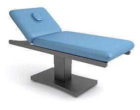 Blue Beauty Parlour Bed 3D