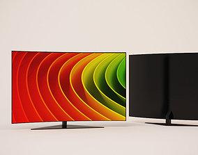 TV curve 3D model