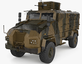 3D model BMC Kirpi MRAP