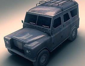 3D asset SUV 2