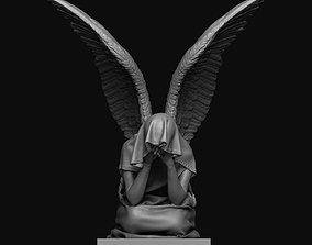 3D printable model Angel Statue graveyard