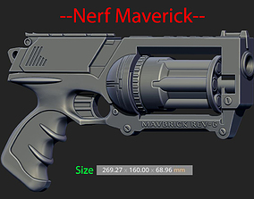 Nerf Maverick For Cosplay 3D print model