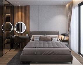 bedroom-modern 3D Apartment bedroom modern