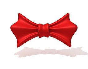 Bow cartoon 3D model