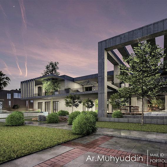 3d floor plan 1st floor design and rendering in 3ds max vray