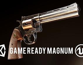 FPS Revolver Magnum 357 3D asset