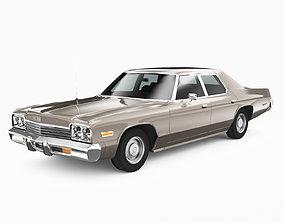 Dodge Monaco 1974 3D asset