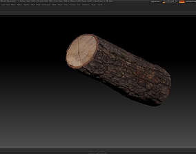 VR / AR ready 3D scanned cutted wood