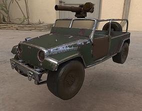 3D model Terrain vehicle