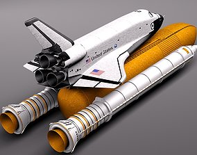 3D Space Shuttle Discovery
