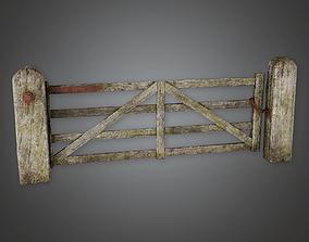 3D model Outdoor Gate 06 GFS - PBR Game Ready