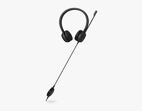 3D Dell Headset UC350
