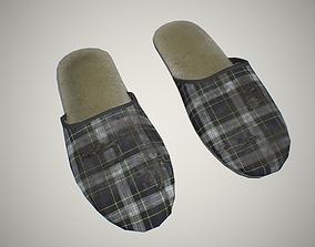 Slippers 3D asset