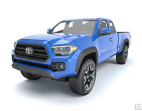 3D model Toyota Tacoma