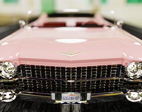 Cadillac Sedan Deville 59 - 3D Printable Model
