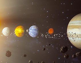 3D model Solar System RT