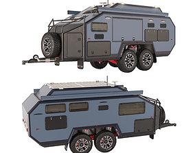 Trailer-camper Bruder EXP6 GT 3D